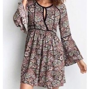 AMERICAN Eagle Outfitters Paisley Babydoll dress